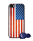 American Flag - Silicone Rubber Case for iPhone 5 & 5s, Patriotic USA Cover