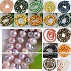 Natural Cultured Freshwater Pearl 7-8mm Round Loose Bead Fit Necklace Bracelet