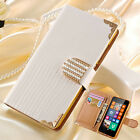 Leather Case For Nokia Lumia 635 630 New Luxury Bling Magnetic Flip Wallet Cover