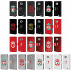 LIVERPOOL FC CREST 1 LEATHER BOOK WALLET CASE COVER FOR SAMSUNG PHONES 2