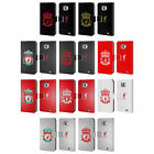 LIVERPOOL FC CREST 2 LEATHER BOOK WALLET CASE COVER FOR SAMSUNG PHONES 2