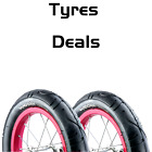 "12"" Slick Buggy Pushchair Pram Tyres 57-203 Vandorm Mini Slick Tyres"