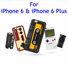 Fashion Novelty Fun Soft Silicone Case Cover Skin For Apple Iphone 6 / 6 Plus