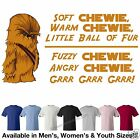 "Star Wars Soft Chewie #2 ""Wookie"" ""Big Bang Theory"" T-Shirt 7 Colors ALL Sizes"