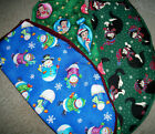Handmade Christmas Toilet Seat Covers Cotton Standard Size $6.5 USD on eBay