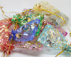 Jewelry Organza Candy Pendent Mixed Color Mini Gift Pouch Bags Wedding 2 styles
