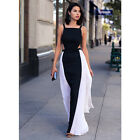 Fashion Women Summer Ball Gown Chiffon Maxi Cocktail Party Long Beach Dress New