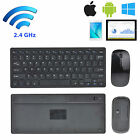 Mini/Portable 2.4G Optical Wireless Keyboard and Mouse For Tablet Laptop PC New