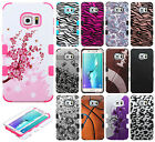 For Samsung Galaxy S6 EDGE+ Plus IMPACT TUFF HYBRID Case Skin Phone Cover