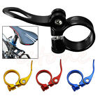 1PC MTB Bike Bicycle Saddle Seat Post Clamp Quick Release Alloy Style 34.9mm