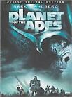 NEW! Planet of the Apes (DVD, 2001, 2-Disc Set) Mark Wahlberg Special Edition