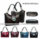 Bling Western Rhinestone fashion Studded Concealed Weapon verse purse Handbag