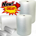 BUBBLE WRAP ROLLS - CHOOSE WIDTH (300mm, 500mm, 750mm) <br/> REDUCED PRICE - SMALL & LARGE - FAST DELIVERY - QUALITY