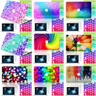 3IN1 Colorful Rainbow 3D Painted Hard Shell Case Cover For Laptop Macbook Mac