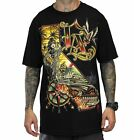 SULLEN KALI LA HOT ROD TIKI GODDESS TATTOO MENS BLACK TEE SHIRT M-3XL