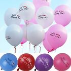 Romantic Standard Balloon WILL YOU MARRY ME Engagement Balloons Bulk 12 inch
