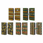 HEAD CASE DESIGNS ETHNIC LINE ART LEATHER BOOK WALLET CASE FOR SAMSUNG PHONES 1