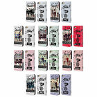 OFFICIAL ONE DIRECTION 1D MIDNIGHT GROUP LEATHER BOOK CASE FOR APPLE iPOD TOUCH