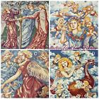 VINTAGE~RENAISSANCE ANGELS & CHERUBS FABRIC PANELS~4 DESIGNS~PILLOW OR QUILTING