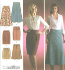 Misses Flared Slim Skirts Sewing Pattern Each 2 Lengths Simplicity 4087 Uncut
