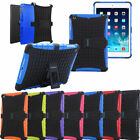 TKOOFN Shock Proof Case Heavy Duty Tough Case Cover with Stand for Apple ipads