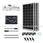 Renogy Solar Panel 300 Watts RV Kit 100W Mono Off Grid 12V Volt Battery Charger