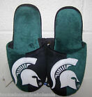 2015 Michigan State Spartans NCAA Logo Slide on Mens Slippers
