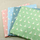 Cute Goose Series 100% Cotton Twill Fabric 160cm Wide Per Meter