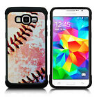 For Samsung Galaxy Grand Prime Rubber IMPACT TRI HYBRID Case Skin Phone Cover