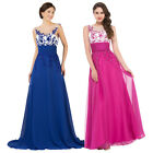 GK NEW Chiffon Long Dress Ball Gown Bridesmaid Prom Wedding Party Cocktail 2-16