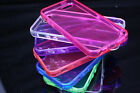 (I 5 D07 ) CLEAR SILICONE BACK SOFT GEL COVER CASE for Iphone 5 5S 5g I phone