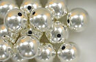 925 Sterling Silver 14mm Seamless Round Spacer Beads, Choice of Lot Size & Price