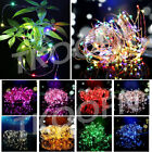 UK Battery Powered Warm White/Multi-colour Fairy String Micro Wire LED Lights