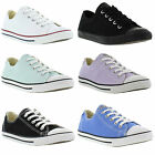 New Converse Trainers All Star Dainty Oxford Womens Canvas Shoes Size UK 3-8