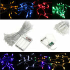 10M Battery Powered Operated LED Fairy String Light Lamp Christmas Halloween