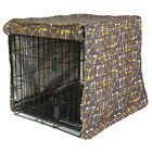 """Dog Crate Cover """"Lion's Roar"""" by Molly Mutt"""