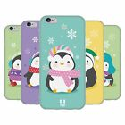 HEAD CASE KAWAII CHRISTMAS PENGUINS SOFT GEL CASE FOR APPLE iPHONE 6S