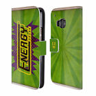 HEAD CASE DESIGNS CASE CAN LEATHER BOOK WALLET CASE COVER FOR HTC PHONES 1