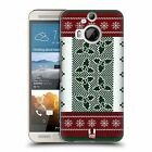 HEAD CASE DESIGNS KNITTED CHRISTMAS HARD BACK CASE FOR HTC ONE M9 PLUS