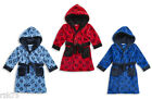 Kids Football Fleece Gown Robe, Super Soft Boys Girls Goal Football Gowns