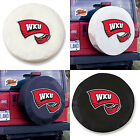 Western Kentucky Hilltoppers Exact Fit Size Black - White Vinyl Spare Tire Cover