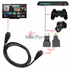 3 in 1 HD High Speed HDMI to Micro Mini HDMI Cable Adapter for PC TV PS4 DVD Tab