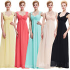 2015 Long Evening Dresses Bridesmaid Prom Party Celebrity Banquet Wedding Gown