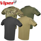 Viper Tactical T-Shirt Cotton V-Cam Green Titanium Black Coyote (Sand) – S-3XL