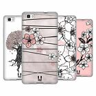 HEAD CASE CHERRY BLOSSOMS SOFT GEL CASE FOR HUAWEI P8LITE
