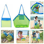 Large Kids Sand Mesh Bag Sand Castle Toys Playing Beach Tote Storage Net Bags