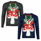 Christmas Jumper New Novelty Xmas Knit Sweater Funny Santas Little Helper
