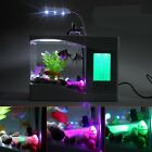 Hot Sell USB Desktop Aquarium Fish Tank with LED Light Alarm clock and Calendar