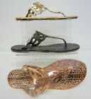 Spot On F0800 Ladies toe-post sandal Copper, Pewter or Gold  UK3 X 8 (R17A)