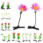 75pcs Wholesale Grass Leaf Plant Flower Headwear Hairpins Hair Accessories Clips